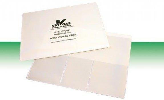 Recepta electrònica amb butxaques 23x17,5cm