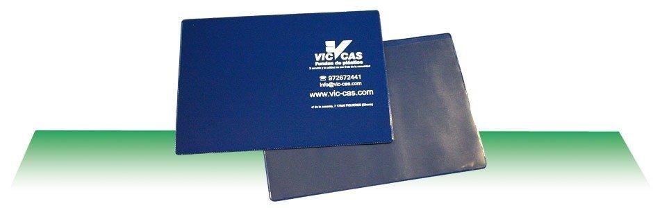 Funda documentación vehículos / tarjeta de transporte 23x16cm